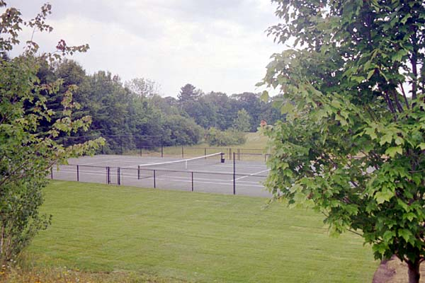 Northeast Fast Dry tennis court in Lenox, MA