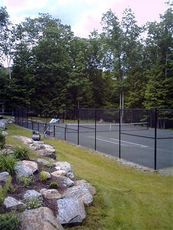New Northeast Fast Dry tennis court built in W. Stockbridge, MA