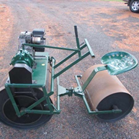 Brutus rollers for tennis, lawn, and sports court mintenanc
